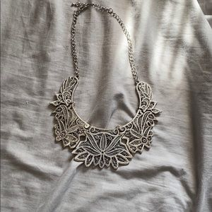 Silver necklace